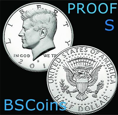 2019 S Kennedy 99.9% SILVER PROOF Half Dollar Gem Deep Cameo - FREE Ship TODAY!!