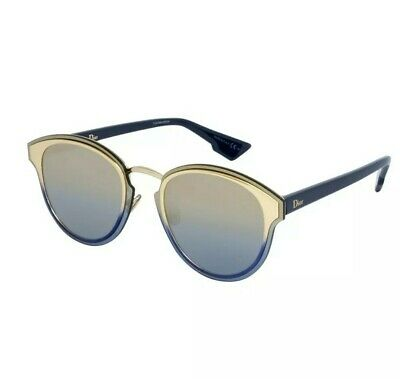 1291cdc42 NEW CHRISTIAN DIOR Nightfall 24S/WO Gold White/Gold Pink Sunglasses ...