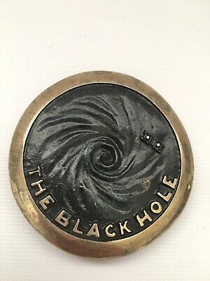 1978 Belt Buckle Al Shelton Sculptor 1979 Hollywood Disney Movie The Black Hole