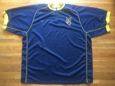 quality design b35ee 8ed42 Nike Marquette Golden Eagles Basketball Warm Up Jersey 1 4 Zip Shirt - 3XL