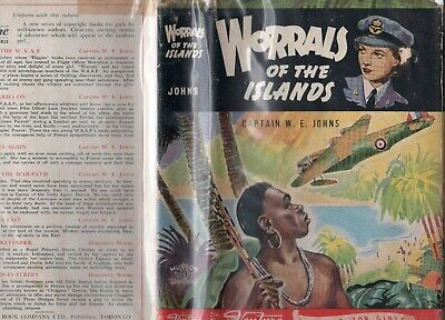Worrals Of The Island     W E Jones   (Biggles)