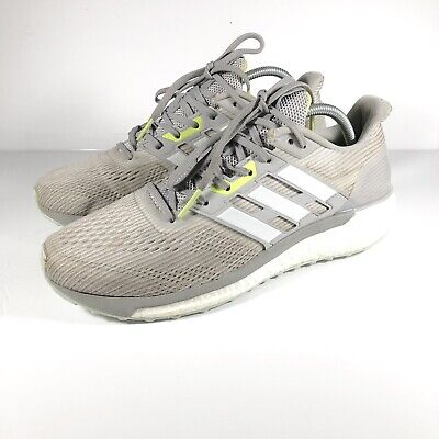 0ac56aa04 Adidas Supernova Running Shoes Boost Continental Grey BA9937 Womens Size 11