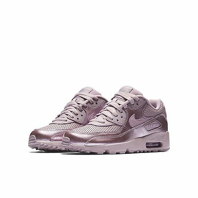 new products ca5b7 94f02 NIKE AIR MAX 90 SE LTR (GS) GIRL S GRADE SCHL Sneakers 859633-600