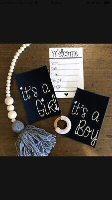 Baby Arrival Announcment Cards Its A Boy Girl