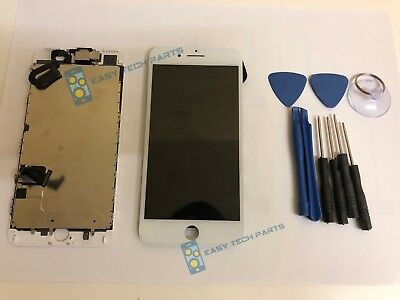 WHITE iPhone 8 PLUS Assembled Genuine OEM LCD Digitizer Touch Screen Replacement