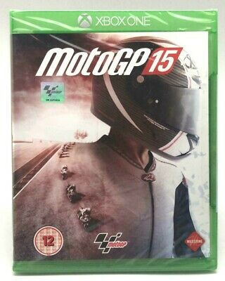 Microsoft Xbox One Motogp 15 Game Uk Import New Sealed! Region Free. Rare!