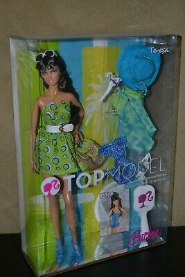Brand New Barbie Doll 2007 Top Model Teresa Resort Doll Brand New