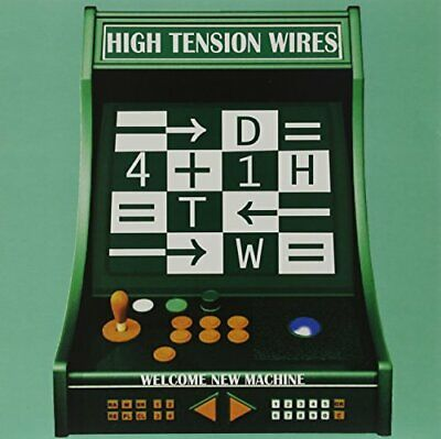 |1221726| High Tension Wires - Welcome New Machine [LP x 1 Vinyle] Neuf