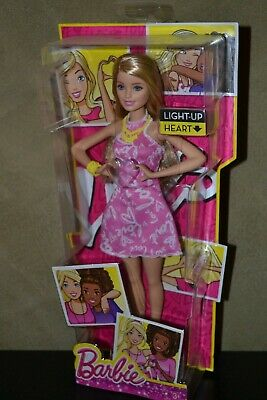 Brand New Barbie Doll 2015 Heart Hands Barbie Doll Blonde