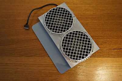 Apple Power Mac G5 Dual Cooling Fan with Grill Enclosure 815-7277