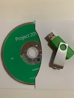 Microsoft Project Pro 2019 MS DVD USB Brand New Product Key Professional CD