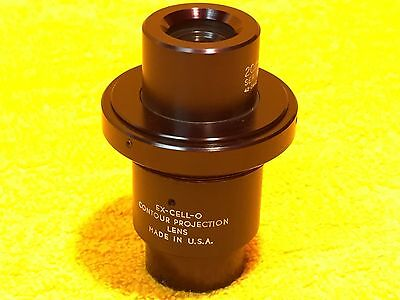 Perfect Ex Cell-O 20X-14 Contour Projection Lens 42-2802 Ser 595