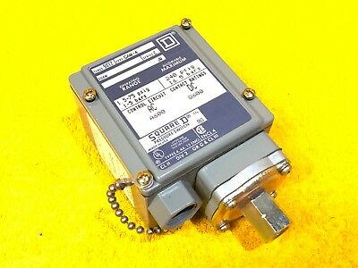 New Square D 9012 Gaw-4 Series C Industrial Pressure Switch 1.5 - 75 Psi