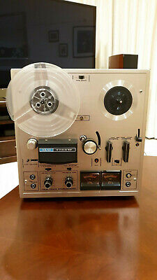 Classic Vintage AKAI 1722W reel to reel 4 track stereo - Tested Working VGC
