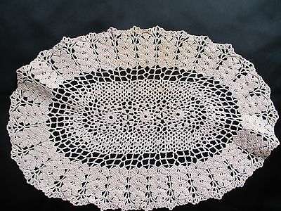 Pink Shabby Chic Crocheted Ladies Bedroom  Doiliey