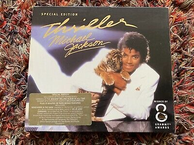 Michael Jackson Thriller CD Album