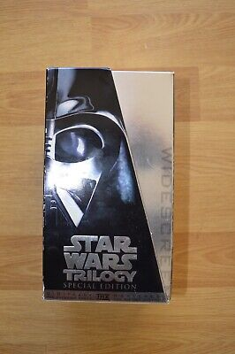 Star Wars Trilogy VHS Box Set - Very Good Condition