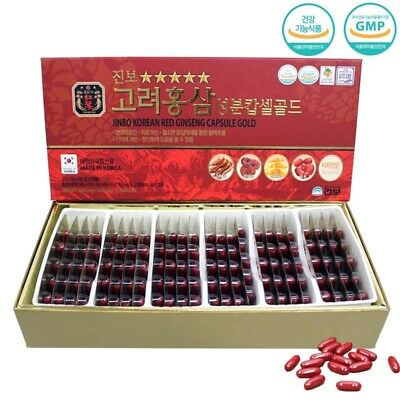 Korean Red Ginseng Extract Gold Capsule (820mg x 120capsule) insam, panax