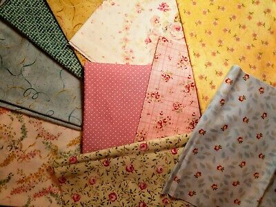 Pretty Pennies Quilt Kit, 100% cotton fabrics by Quilt Gate & MODA, incl backing