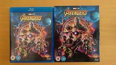 Avengers Infinity War [Blu-ray, 2018] WITH CARDBOARD SLEEVE