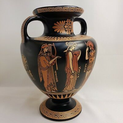 Aphrodite Ares Demeter Apollo Artemis Hestia Ancient Greek Art Pottery Amphora