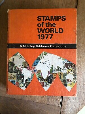 Vintage Stanley Gibbons Stamps of the World Catalogue 1977