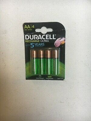 Duracell Ultra AA Rechargeable Batteries NiMH 2500mAh PreCharged HR6