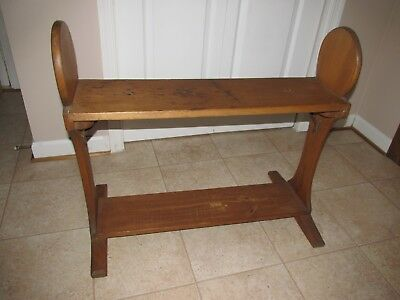 Antique Bucket Bench, Circa 1890, primitive