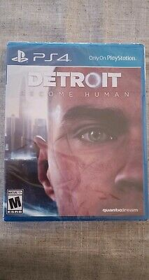 Detroit Become Human (PS4) Brand New Sealed
