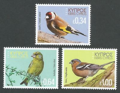 Cyprus Stamps SG 2018 Birds of Cyprus - MINT Never Hinged
