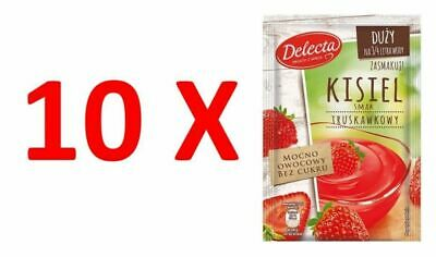 10X Delecta Water Based Kissel Jelly Strawberry 58g