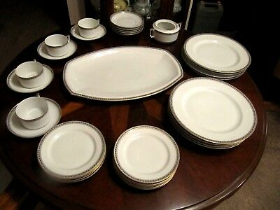 H & G Bavaria Heinrich China Germany 28 Pieces