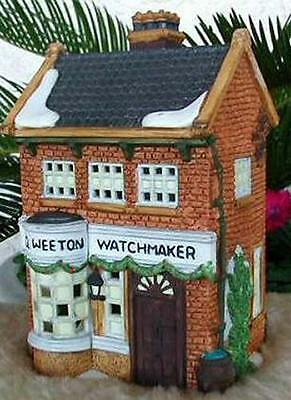 NEW Dept 56 Dickens Village Series Geo Weeton Watchmaker #59269