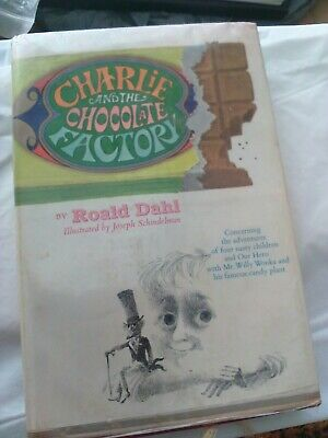Charlie and the Chocolate Factory by Roald Dahl  c.1964 - bce