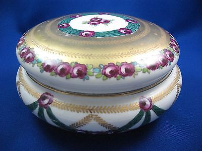 Exquisite  Early Napoleonic Hand Painted Box By Wahliss