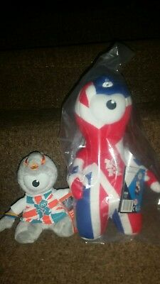 London Olympics Mandeville Cuddly Collectable With Tags Terrific Value Sports Memorabilia London 2012