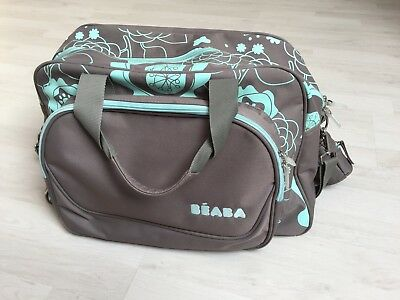 Beaba Sac à Langer Nurserie Expression Taupe Turquoise