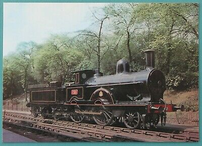 Postcard London and North Western Railway 2-4-0 Locomotive No 790 Unposted