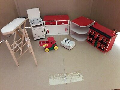 Dolls House Kitchen Furniture Job Lot