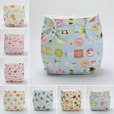 Baby Toddler Adjustable Washable Reusable Cloth Diaper Pocket Nappies Cover Wrap