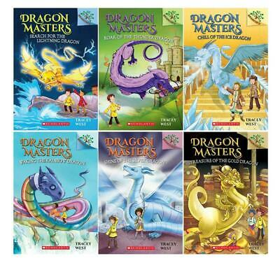 Scholastic Branches DRAGON MASTERS Childrens Series by Tracey West Book Set 7-12