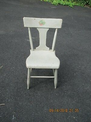 vintage antique wooden chair 1930-1940's