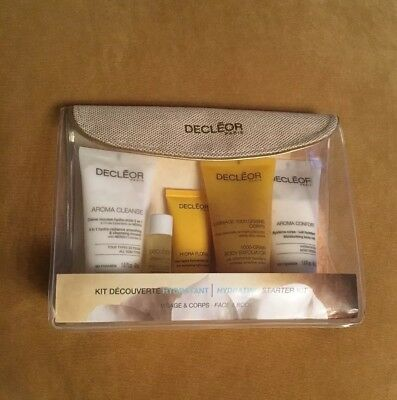 DECLEOR 5 PIECE HYDRATING STARTER KIT with Neroli ~ Brand New in Bag