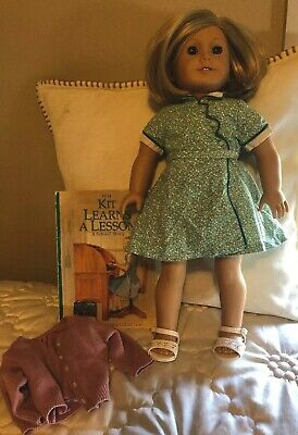 American Girl Pleasant Company Doll - Kit Kittredge With Book