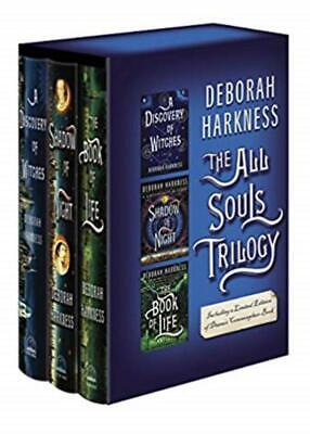 PAPERBACK BOXED SET All Souls Trilogy by Deborah Harkness Books 1-3 in Slipcase!