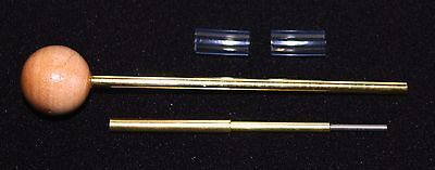 Proto Pipe POKER and STEM CLEANER with 2 blue stem mouthpieces