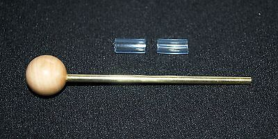 Proto Pipe STEM CLEANER and 2 blue stem mouthpieces
