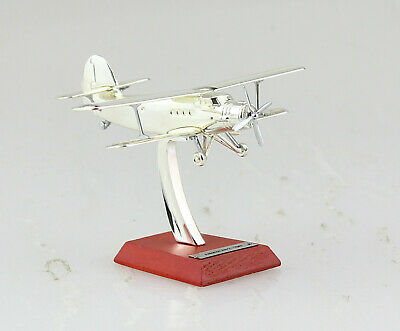 Plated Silver 1:200 Scale Plane Aircraft Collection 8 Antonov An-2 1947