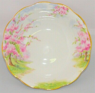 1- Royal Albert Blossom Time Soup / Cereal Bowl England ( 9 Available)