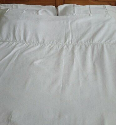 JULIAN CHARLES Nearly New in Polar White Double Quilt Cover Set